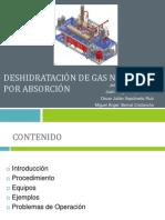 Deshidratacion de Gas Natural por Absorcion.pptx