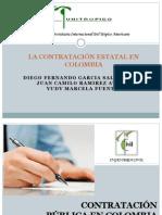 Contratación  Eestatal Colombia - UNITROPICO