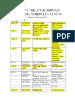 updated calendar tlm