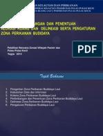 Modul 5. Kriteria, Pertimbangan dan Penentuan Alokasi Ruang dan Deliniasi serta Pengaturan Zona Perikanan Budidaya