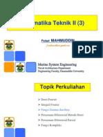 Matek II Lecture 3 Fungsi Gamma Dan Beta
