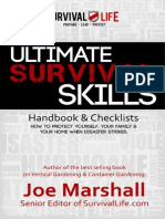 Ultimate Survival Skills Handbook and Checklist