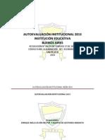autoevaluacion institucion educativa buenos aires 2014.docx
