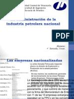 La administracion de la industria petrolera nacional.pptx