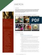 Carolyn Cameron Visualcv Resume