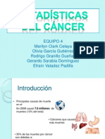 4. Estadisticas del cancer y su impacto como problema de salud..pptx