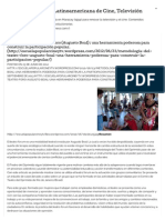 Metodología del Teatro-Foro (Augusto Boal) _ una herramienta poderosa para construir la participación popular