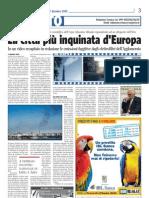 Corgiorno - 17dic09 - Taranto citta più inqu