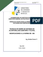 Tecnicas diseño sistema alcantarillado sanitario y pluvial Bpliviana.pdf