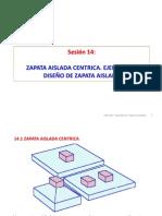 Sesión 14 Zapata aislada céntrica.pdf