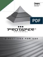 Protaper Universal Endo System DFU