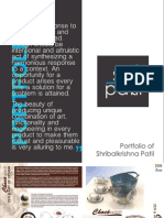 Portfolio of Shri Patil