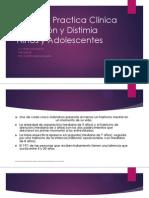 Guía de Practica Clínica Depresión y Distimia  Niños.ppt