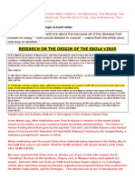 JTI DSW Research on Western Government Origin of Ebola With Quotes From Messenger