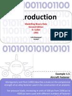 Example 1.5 - 1.8 Modeling Binary Data