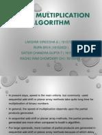 Booth Multiplication Algorithm