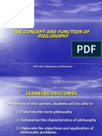 Function of Philosophy
