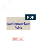 Vapor Compression Cycle Anaysis