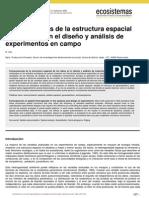 Zas _ Consecuencias de la estructura espacial de los datos en el diseño y análisis de experimentos en campo.pdf