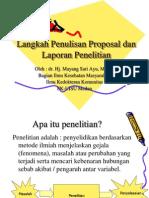Proposal Penelitian Koas