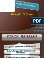 Ppt Spektroskopi Inframerah (Kelompok Empat)