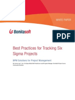 Best Practices for Tracking Six Sigma Projects With Bpm