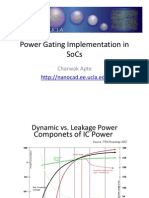 Power Gating Implementation In SOC