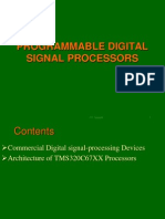Programmable Dsp Lecture1