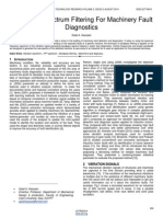 Frequency Spectrum Filtering for Machinery Fault Diagnostics