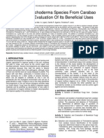 Isolation of Trichoderma Species From Carabao Manure and Evaluation of Its Beneficial Uses