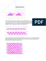 Drawing the Bling Bling Pattern (tutorial Photoshop)