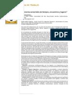 Memorias sensoriales de tiempos, encuentros y lugares.pdf