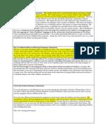 practical summary statements