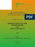 Booklet Nr 8 Production of NPK Compound Fertilizers by Mixed Acid Route