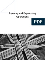 Freeway and Expressway Operations