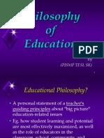 PhilosophyOfEducation