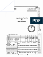 ITP for Hrsg Operation