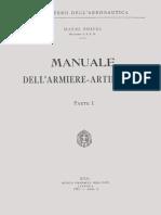 Manuale Dell'Armiere-Artificiere - Parte I - 1931