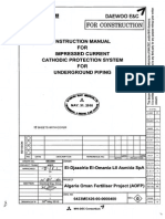 Cathodic Protection for Underground Piping