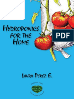 Hydroponics for the Home text in english