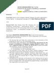 004 Adjustive Arrangement No 1 - 12 09 2014