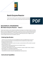 BE1 _ Batch Enzyme Reactor