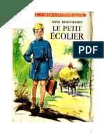 IB Beauchamps Anne Le petit écolier 1959.doc