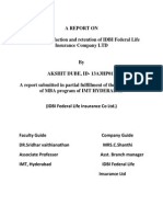 Akshit Dube Project Report Idbi