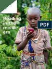 Rapport de l'Unesco, 'Lire à l'ère du mobile'