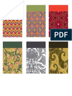 artwork or packaging with Indian theme