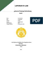 Laporan Praktikum Rlab Panjang Gelombang Laser-Sari Anastasia(1306369983) (1)