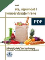 """Kvaliteta, sigurnost i konzerviranje hrane (udžbenik iz kolegija """"Uvod u prehrambene tehnologije"""")"""