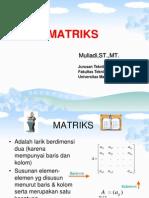 dasar matriks