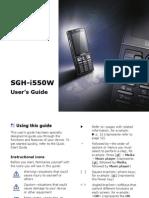 Samsung Sgh i550w